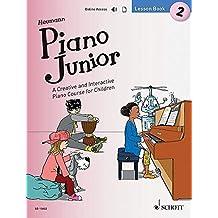 Piano Junior: Lesson Book 2: A Creative and Interactive Piano Course for Children. Vol. 2. Klavier. Ausgabe mit Audio-Download.