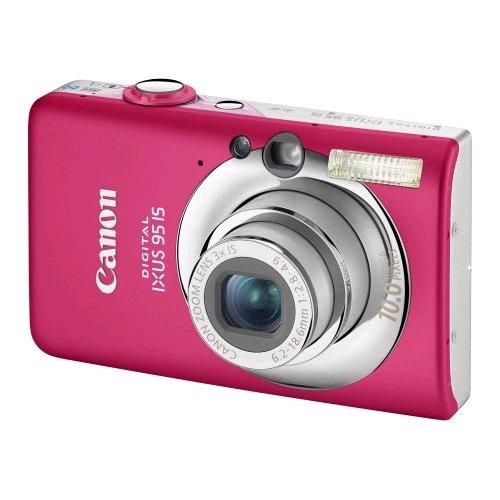 """Canon Digital IXUS 95 IS Digitalkamera (10 Megapixel, 3-fach opt. Zoom, 2,5\"""" Display, Bildstabilisator) Pink"""