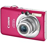 "Canon Digital IXUS 95 IS Digitalkamera (10 Megapixel, 3-fach opt. Zoom, 2,5"" Display, Bildstabilisator) Pink"
