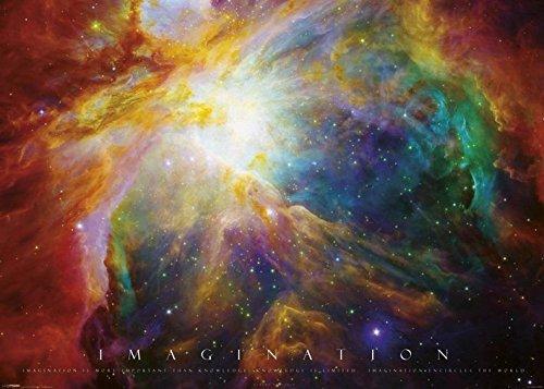 Poster Imagination - nebula, 140 x 100 cm