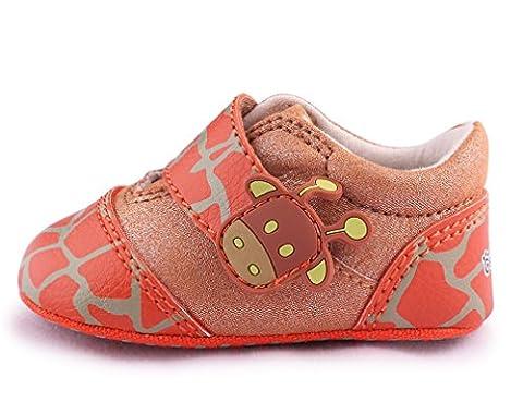 Cartoonimals Babyschuhe Mädchen Jungen Neugeborene Weiche Rutschsicheren Baby Kinder Schuhe Lowcut Giraffe Brown