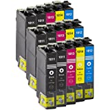15x Patronen für Epson Expression Home XP-102 / XP-202 / XP-205 / XP-212 / XP-215 / XP-225 / XP-30 / XP-33 / XP-302 / XP-305 / XP-312 / XP-313 / XP-315 / XP-325 / XP-402 / XP-405 / XP-405WH / XP-412 / XP-413 / XP-415 / XP-422 / XP-425 NEU