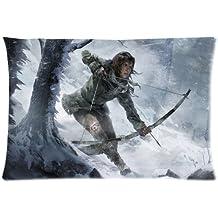 Custom Jeff Hardy Pillowcase/Fundas para almohada Rectangle Zippered Two Sides Design Printed 20x30 pillows Throw Pillow Cover Cushion case/Fundas para almohada Covers