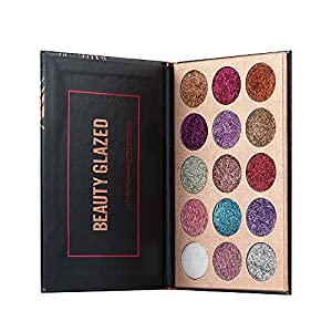 Beauty Glazed 15 Farben Lidschatten Palette Makeup Kit Set Make Up Professional Box