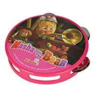 Simba Masha And The Bear Tambourine 9306604 Musical Toy Pink