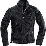 Reusch Fleecejacke Freizeitjacke Damen Fleece Jacke 1.0, zwei seitliche Reißverschlusstaschen, Kragen mit Reißverschluss, weich und kuschelig, 100% Polyester, Schwarz, M