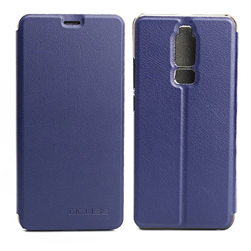 Handyhülle für Leagoo S8 95street Schutzhülle Book Case für Leagoo S8, Hülle Klapphülle Tasche im Retro Design mit Praktischer Aufstellfunktion - Etui Blau