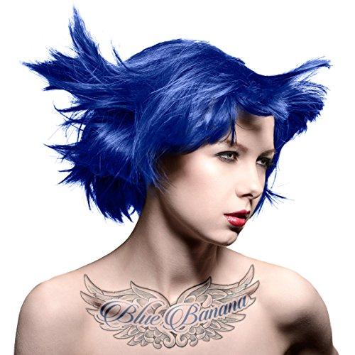 Tinte-Capilar-Manic-Panic-High-Voltage-Crema-De-Color-Frmula-Clsica-Blue-Moon-GRATIS-Estuche-Blue-Banana-Sugar-Skull