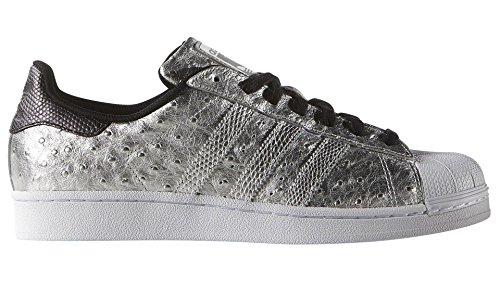 adidas Originali Superstar Scarpe da Ginnastica da Uomo S31641 Scarpe da Tennis - Argento AQ4701, UK 9 EUR 43 1/3 US 9.5