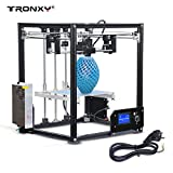 Tronxy X5 Creality DIY 3D Drucker Printer Bausatz mit LCD Display | SD Karten Leser | USB 2.0 | Core-XY | Printing Speed: 20-130mm/s | FDM | Print Size:210x210x280mm(Max)