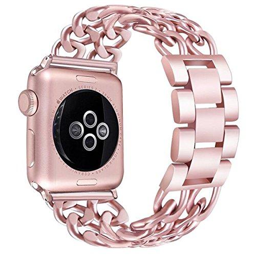 Apple Watch Band 38mm, ymccool Premium vaquero estilo pulsera iWatch correa de...