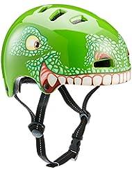 TSG Niños Nipper Mini Graphic Diseño–Casco semi-integral, infantil, Nipper Mini Graphic Design, t-Rex