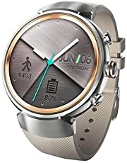 ASUS ZenWatch 3 WI503Q 1. 39-inch AMOLED Smart Watch (White Rubber Strap)