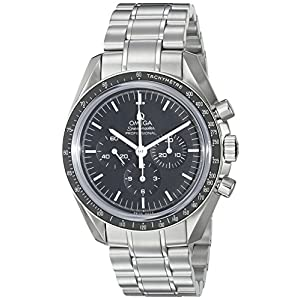 "Omega Speedmaster Professional ""Moonwatch"" - Reloj (Reloj de Pulsera, Acero Inoxidable, Acero Inoxidable, Acero Inoxidable, Acero Inoxidable, Hesalita) 4"