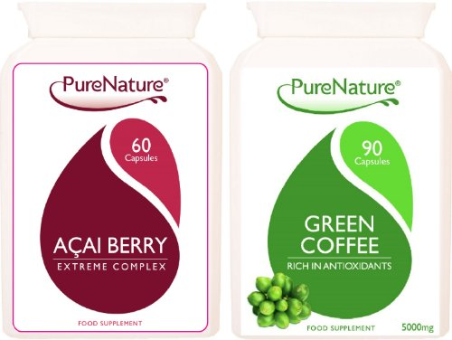Acai-Berry-Extreme-Highest-Strength-Pure-Green-Coffee-Bean-Extract-Diet-Duo-Fat-Burner-FREE-UK-Delivery