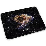 Weltraum 10072, Sterne, Mousepad Anti Rutsch Unterseite für Optimalen Halt Kompatibel mit allen Maustypen (Kugel, Optisch, Laser) Ideal für Gamer und für Grafikdesigner.