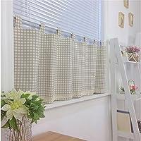 Ustide decorativo cocina cortina, cortina de cortina de cortina de Cafe, comedor, cocina