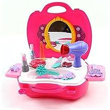 Popsugar 21 Pieces Kids Girls Gift Game Beauty Set (Pink,TOYHBPL8228)
