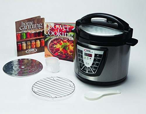 Power Pressure Cooker XL As Seen on TV Create Delicious Meals 10 Times Faster, 5 Litre
