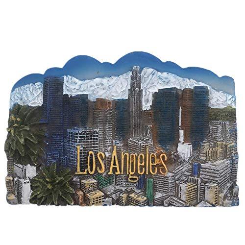 Universal Studios Hollywood Los Angeles Amerika USA Kühlschrankmagnet Harz 3D Kunsthandwerk Touristen Reise Stadt Souvenir Sammlung Brief Kühlschrank Aufkleber