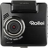 Rollei CarDVR-318 - Hochauflösende Dashcam/GPS Autokamera (KFZ-Kamera, DVR Kamera) mit 2k Videoaufzeichnung und Full HD, inkl. Bewegungssensor, Parküberwachung und GPS-Funktion – Schwarz