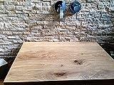 Waschtisch Eiche massiv , Waschtischplatte Massivholz