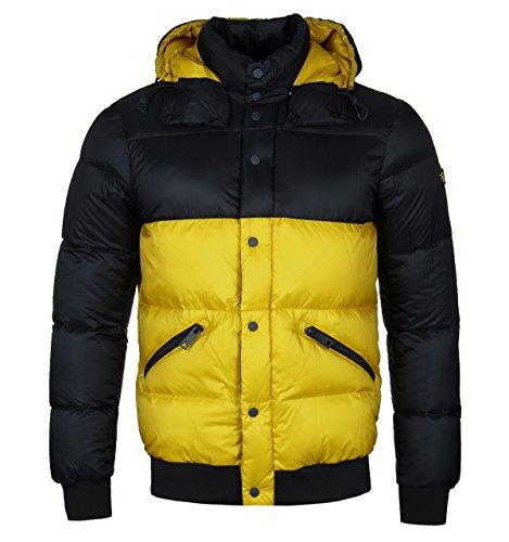 Armani Jeans Herren Jacke Down Jacket Gelb