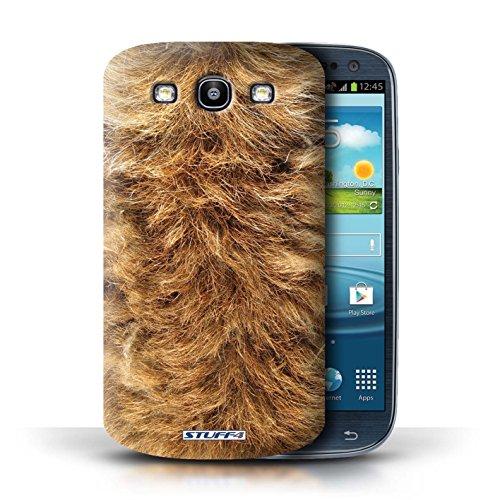 Coque en plastique pour Samsung Galaxy S3/SIII Collection Motif Fourrure Animale - Zèbre DOG
