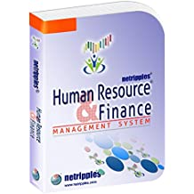 Netripples Human Resource And Finance Management Software ( Payroll, attendance,leave Management,Salary Statement,Payslip , financial Accounting Software features) Integrated System (CD)