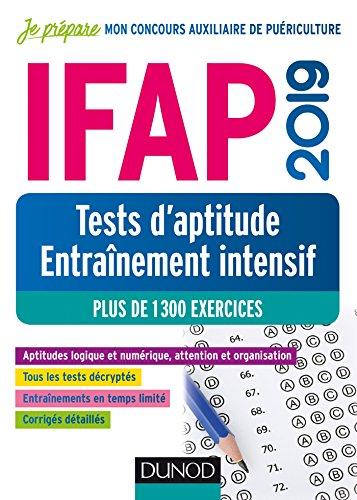 IFAP 2019 Tests d'aptitude - Entraînement intensif - Plus de 1300 exercices par Christelle Boisse