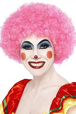 Clown Rose Costumes - Smiffys - SM42086 - Perruque Clown Fou