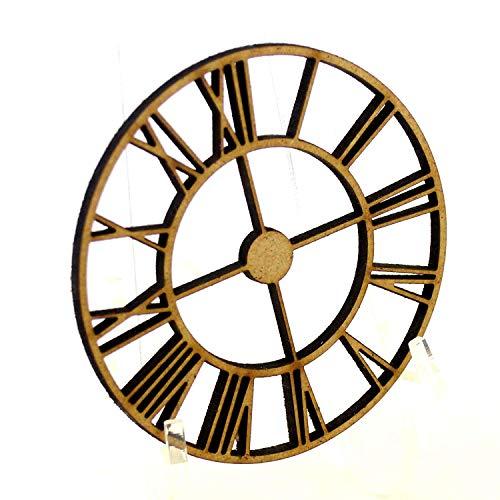 10 X MDF Reloj Steampunk Madera Decoración Tarjeta Hacer Manualidades Lasercut Engranajes (50mm 5cm)