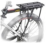 West cycling 110 lb Capacidad ajustable, para bicicleta de montaña, bicicleta, equipaje Cargo-Bag para portabicicletas, bastidor y baño con Logo reflectante