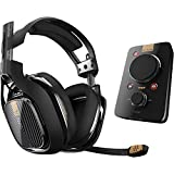 ASTRO Gaming A40 TR Headset (kabelgebunden) + MixAmp Pro TR Adapter mit Dolby 7.1 Surround Sound – kompatibel mit PlayStation 4, PC, Mac – Schwarz