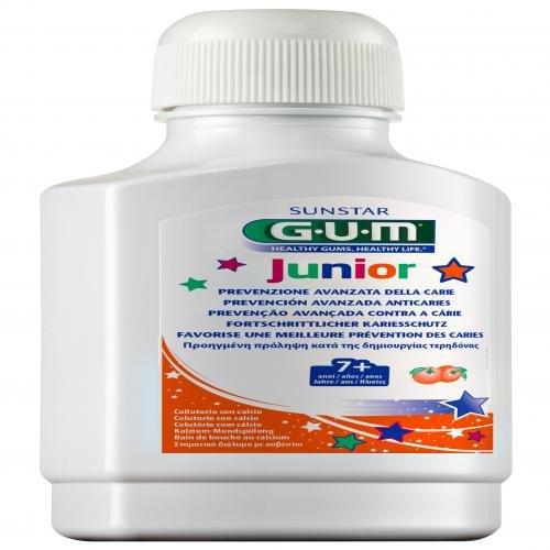 GUM Junior Mundspülung m.Calcium Orange 7-12 J. 300 ml Spüllösung