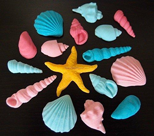 n Kleine Meerjungfrau Strand Mädchen Geburtstag Cupcake Kuchen Topper Dekoration ()