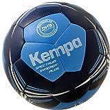 Kempa Handball Spectrum Synergy Plus blau + Ballpumpe (2)