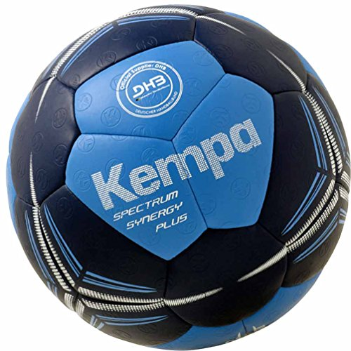 Kempa Handball Spectrum Synergy Plus blau + Ballpumpe (1)