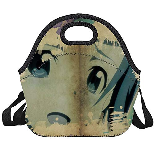 Yui Sword Art Online Lunch Bag Tote Bag Lunch Bag Lunch Box Insulated Lunch Container Lunch Organizer Lunch Holder for Women Men