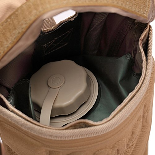 szsyr-fans di viaggio sport escursionismo tattica Men 2.5l Campus zaino borsa con sacca d' acqua in tela da campeggio militare tattico borsa da palestra, sacchetto di acqua, Black Camouflage green