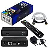 MAG 351/352 d'origine HB-DIGITAL & Infomir IPTV SET TOP BOX avec Linux, WLAN (WiFi) 802.11 b/g/n/ac, Bluetooth 4.0, Stalker Middleware support (de 5.2), Multimedia Player Internet TV IP Receiver (HEVC H.256 support) + HB Digital HDMI câble