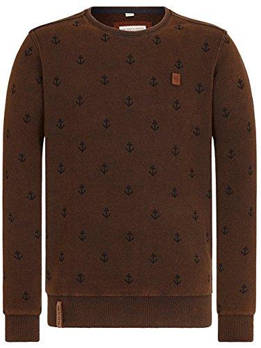 Naketano Male Sweatshirt Rise Of An Enemy III Heritage Black
