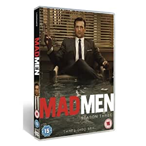 Mad Men: AMC Series - Complete Season 3 And Exclusive DVD Extras (3 Disc Set) [DVD]