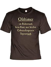 Witziges T-Shirt - Oldtimer im Ruhestand - Lustiges Geschenk mit Humor