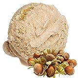 Haselnuss Geschmack 1 Kg Gino Gelati Eispulver für Milcheis Softeispulver