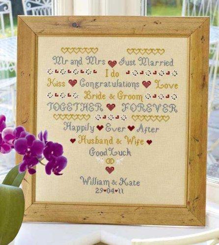 Do I Wedding Sampler-Kit per punto croce