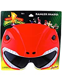 H2W Officially Licensed Power Rangers Sunstaches Sunglasses, Red by H2W