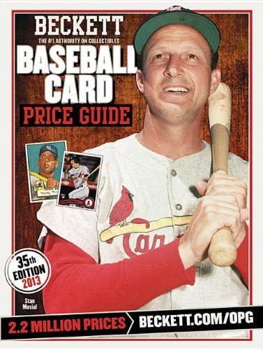 Beckett Baseball Card Price Guide: 2013 Edition by Brian Fleisher (2013-02-14) (Beckett Baseball Card Price Guide)