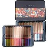 Newdoer Marco Renoir 48couleurs à l'huile Crayons de couleur pour le dessin...