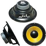 """WEB W-064 altoparlante diffusore medio basso woofer 16,50 cm 165 mm 6,5"""" 50 watt rms 100 watt max impedenza 4 ohm auto sensibilità 92 db, 1 pezzo"""